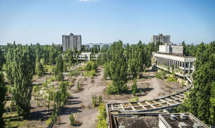 Seeing Pripyat, Ukraine